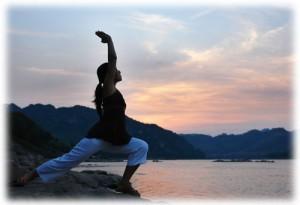Donna Tai-chi percezione del corpo